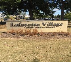 Lafayette Village Sign